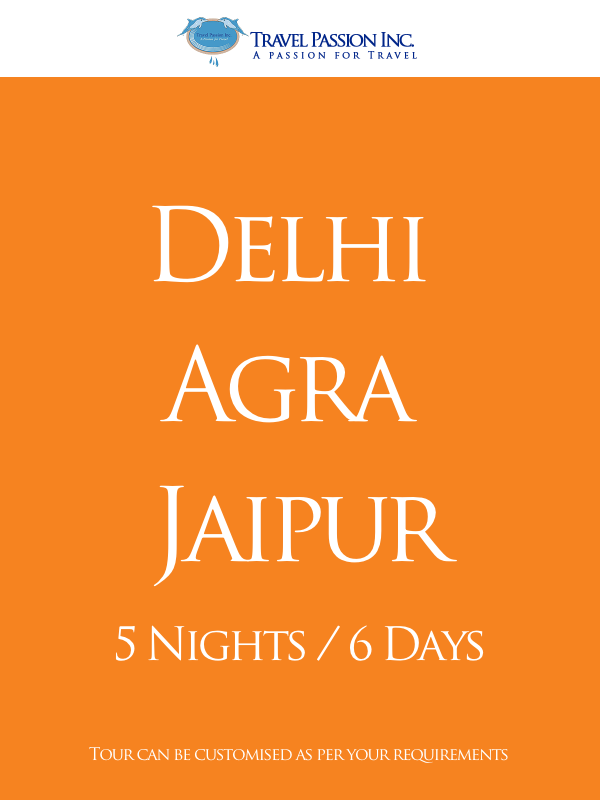 Delhi Agra Jaipur - The Golden Triangle Tour 5 Nights and 6 Days