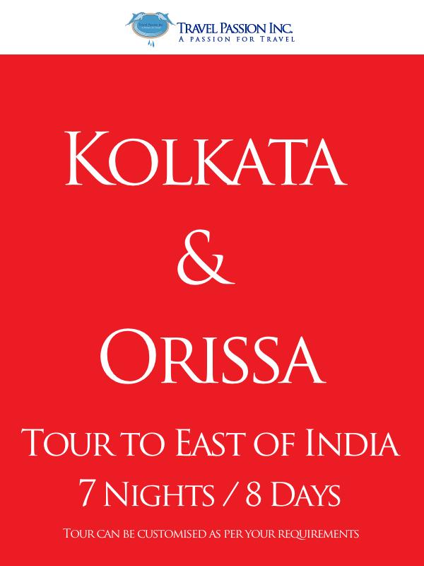 Kolkatta & Orissa - Customised Tours 7 Nights and 8 Days