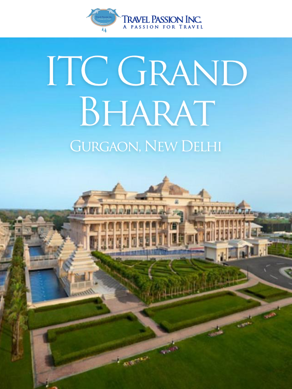 ITC Grand Bharat - Luxurious Spa & Wellness Tour Packages by Travel Passion Inc.